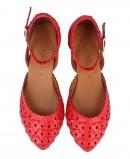 Die-cut red ballerina Carmela 67797