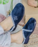Garzon 3305.247 Navy Blue Comfortable Slippers