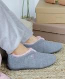 Zapatillas planas de casa cerradas Garzon 5821.291 gris