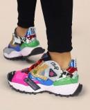 Exé 928-1 multicolor exotic sportswear