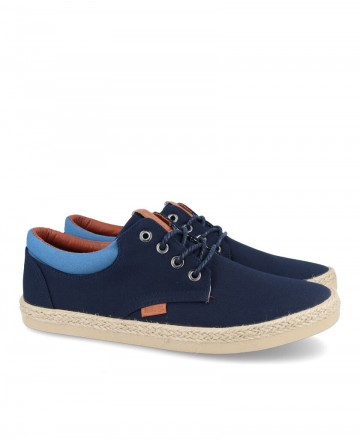 Old Skool Mustang 84666 men's blue sneakers