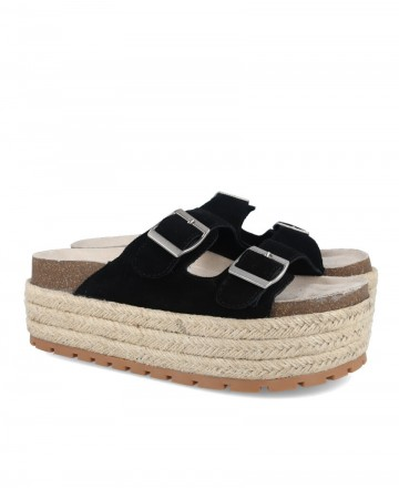 Sandalia de plataforma Emmshu Bimby