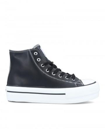 Victoria zapatillas 1061107 botín vegan negro