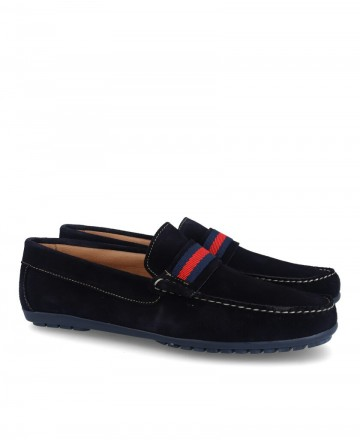 Myers loafers 81644 navy blue