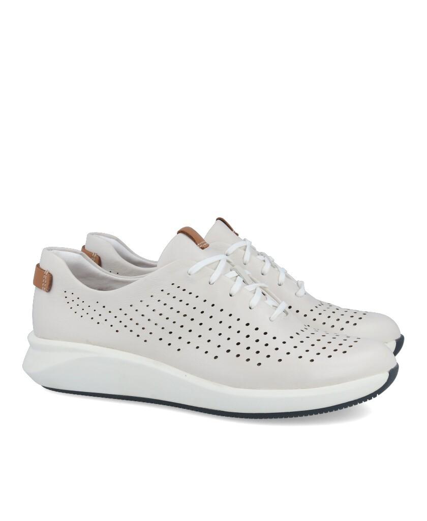 Sneaker troquelada Clarks Un Rio Tie 26148256