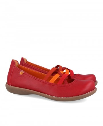 Mary Janes with elastic Jungla 4751