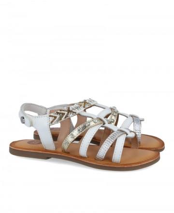 Gioseppo Hampden 62512 Roman style sandals