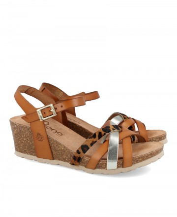 Yokono Cádiz 071 wedge sandals