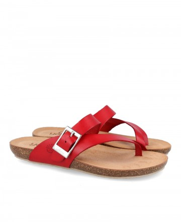 Red sandals Yokono Ibiza 013