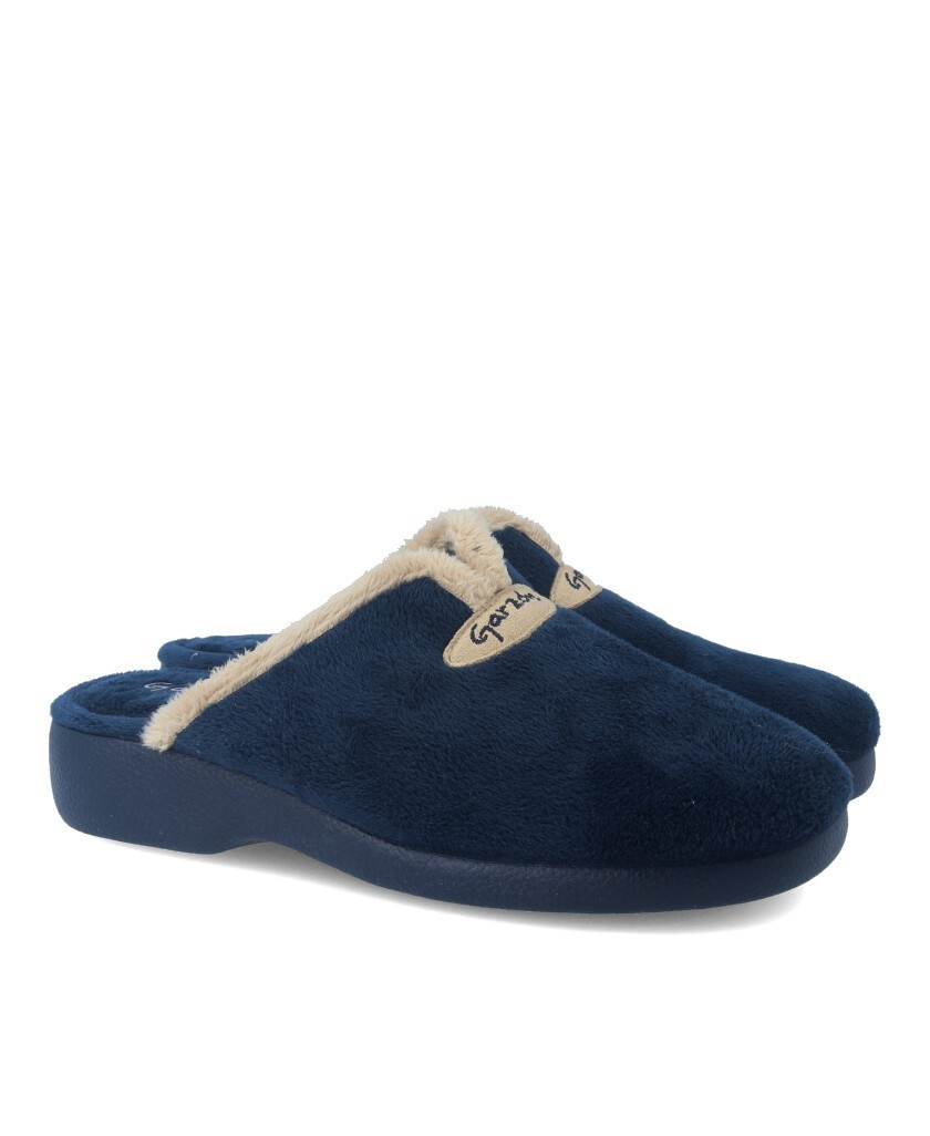 Garzon 3721.247 navy blue home slippers