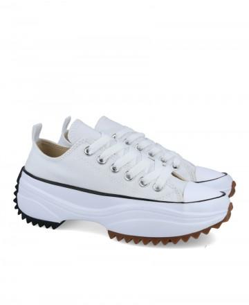 Platform canvas shoes JW0603-01
