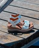 Paula Urban 2-43 animal print sandal