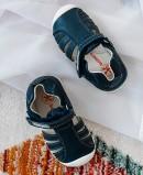 Blue sandals for boys Biomecanics Harper 192125 A