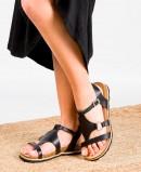 Yokono Chipre 021 black sandals