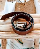 Miguel Bellido 360/35 leather belt