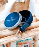 Cinturón trenzado Miguel Bellido 394/35 Azul