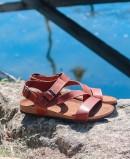 Sandalias de piel Inter-Bios 9557