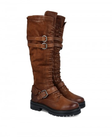 Military high boots Mjus M77322