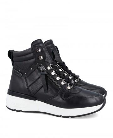 Carmela 68069 black sports ankle boots