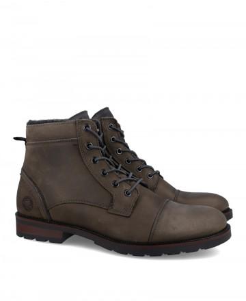 Gray English Bullboxer boot B891K56021AWPDG