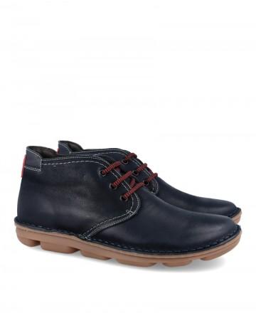 Zapato tipo botín sostenible On Foot 7040