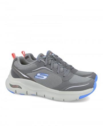 Deportiva gris Skechers 149413