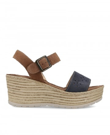 Walk & Fly leather wedge 8291 36631