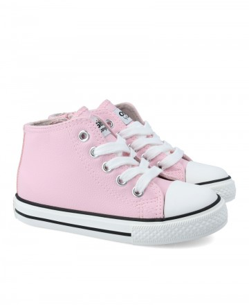 Pink low-top shoe for girl Conguitos 14130