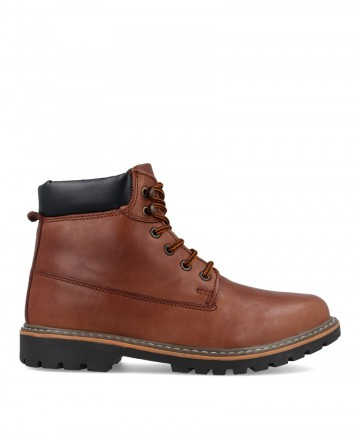 Traveris 4037 brown men's ankle boots