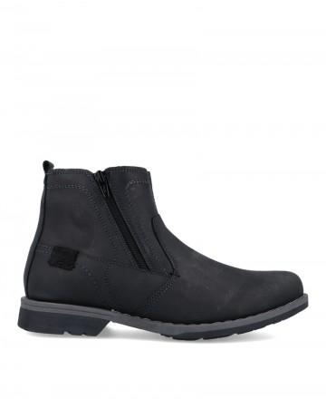 Mens Traveris 2194 Zip Boots Black