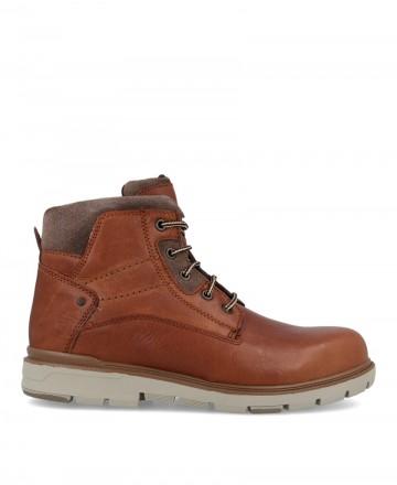 Casual boots man Traveris 4023 brown