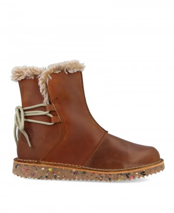 Colour Feet 21079 booties with fur