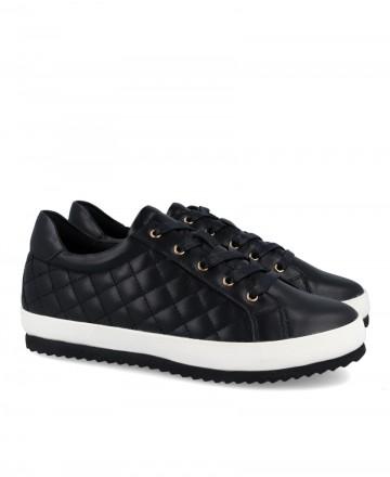 Black women's sneakers Stepehn Allen 1827-C20