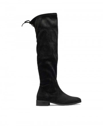 Bryan Jeanette over the knee boots black 4905