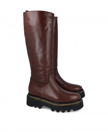 Boots with track sole Alpe Milano 2128